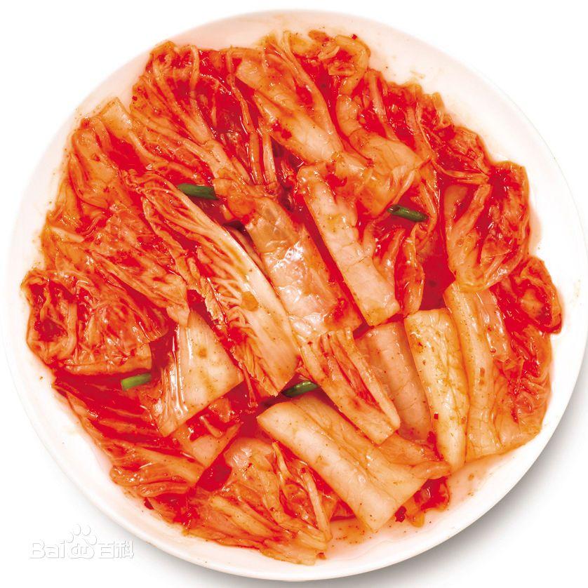 辣白菜图片 百度百科