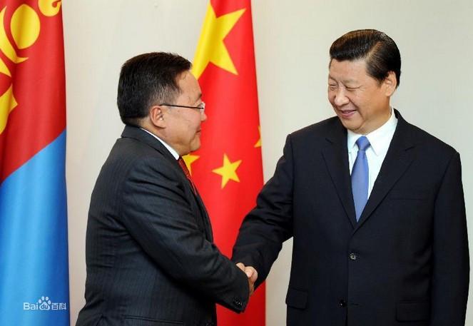 蒙古外交活动