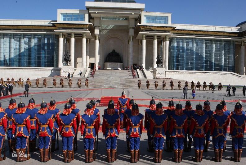 蒙古国仪仗队