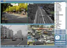 視頻監控系統界面圖