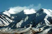 昆仑山上的白雪
