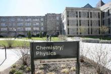 Virginia Tech Chemical Physics Building
