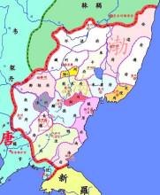 Bohai's administrative planning