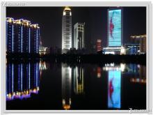 江汉夜景图