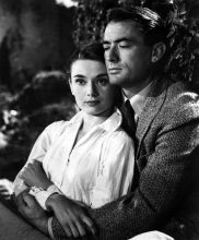 Parker and Audrey Hepburn (right)