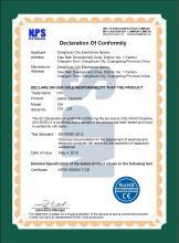 欧洲新RoHS证书(RoHS2.0)