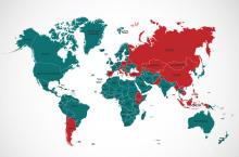 2017年5月14日参与国-红色表示