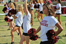 New Mexico State University Cheerleaders