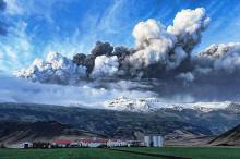 To shoot an Irish farm near the volcano ash clouds