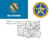 Oklahoma State, state, administrative division