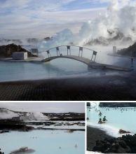 泻湖温泉——冰岛