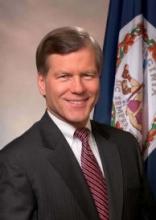 The governor of Virginia and Bob MacDonald