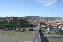 首都布拉迪斯拉发全景