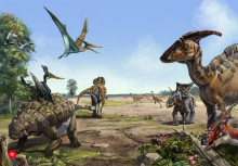 The Cretaceous Dinosaur: the golden age (Zhao Chuang painted)