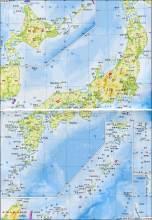 日本の地形図