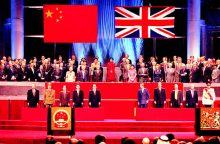 Hong Kong regime handover ceremony