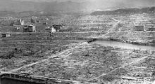 After the atomic bomb in Hiroshima