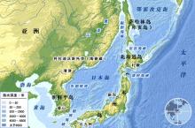 日本週辺海域の分布図