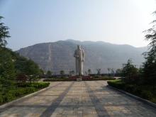 黄石国家矿山公园——毛泽东主席雕像
