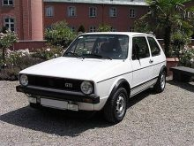 The first generation of golf GTI