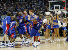 Kansas won the NCAA championship field