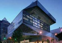 The novelty of the Seattle Central Library