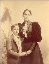 Roosevelt and the young mother