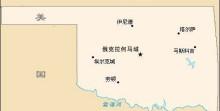 Oklahoma map