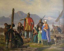 冰岛第一批永久定居者,首领殷格·亚纳逊