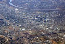 Top view of Albuquerque