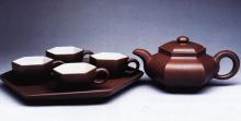 藏六抽角茶组(六头)