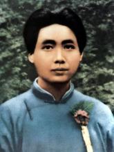 毛沢東は上海で