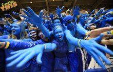 Fans of Duke University