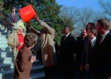 """Reagan was """"popcorn bath"""""""