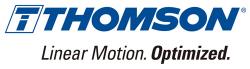 Thomson汤姆森直线运动Logo