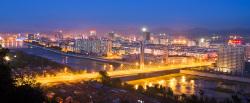 Hunjiang District in Baishan City