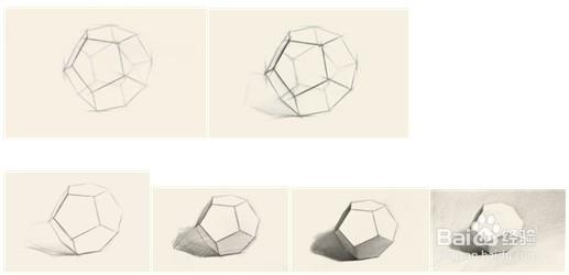 几何形体素描 4图片