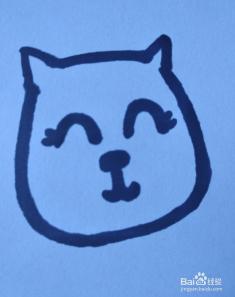 小花猫简笔画怎么画
