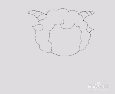 简笔画喜羊羊是怎么画的