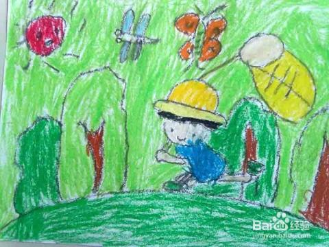 蜡笔画怎么画才好 儿童蜡笔画技巧