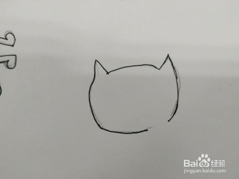 睡觉的小猫咪简笔画怎么画