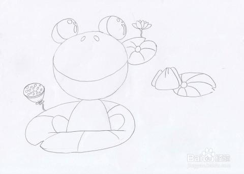 简笔画蝌蚪找妈妈