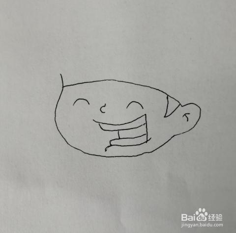 如何来画弹吉他的小男孩卡通简笔画