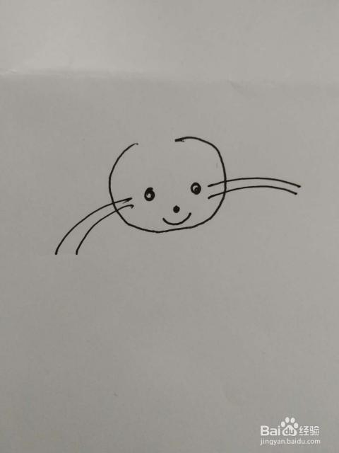 长耳朵兔子简笔画怎么画,怎么画长耳朵的小白兔