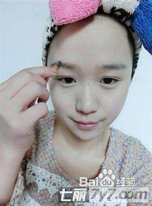 教你画日系小清新妆容图片