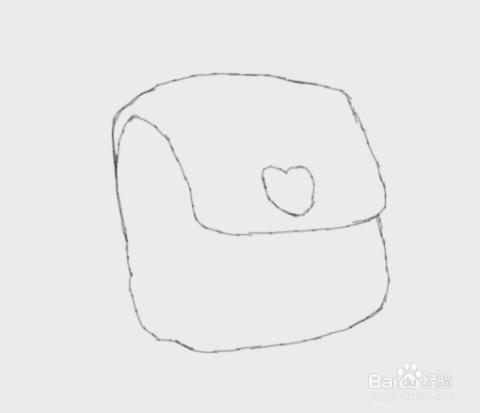 简笔画小学生书包是怎么画的