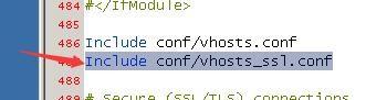 phpStudy下Apache环境安装SSL证书实现https链接