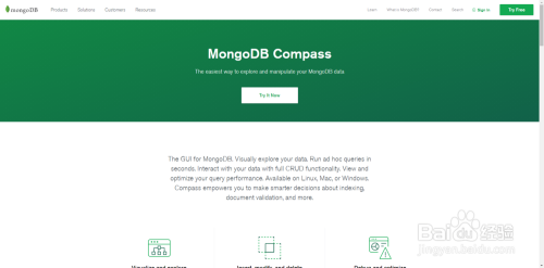 mongodb compass 下载