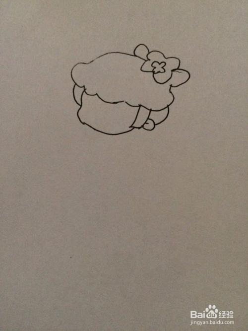 小花仙伊瞳的简笔画法