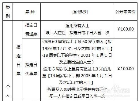 2019年北京世园会门票价格及购票渠道